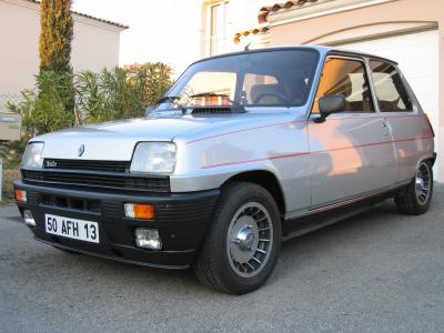 dimension garage renault 5 alpine turbo a vendre. Black Bedroom Furniture Sets. Home Design Ideas