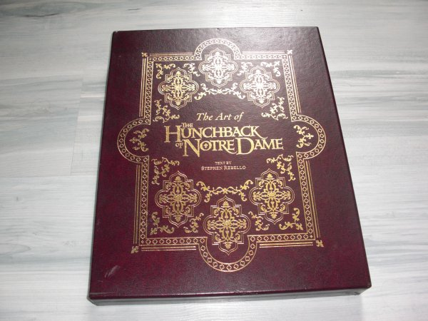 Nouveaut�: The art of the hunchback of notre-dame (limited edition)
